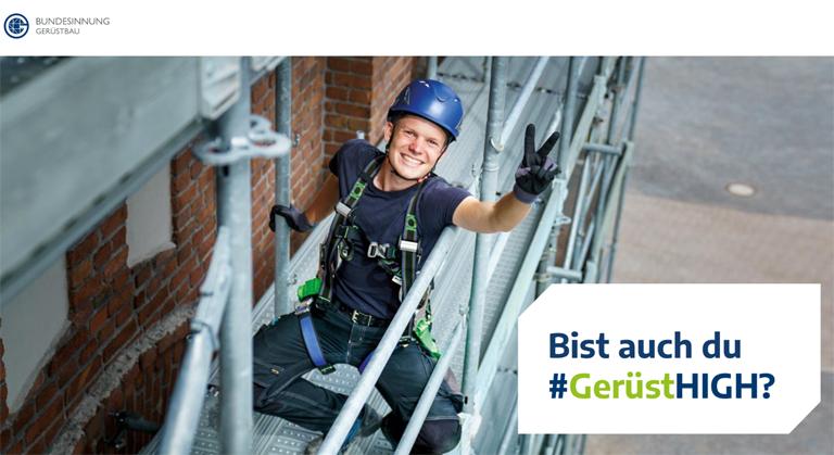 Bundesverband Gerüstbau – Neue Imagekampagne