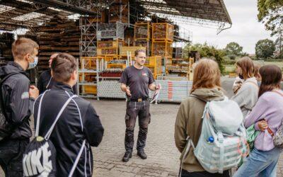 Handwerker-BERUFSTOUR in Neustrelitz